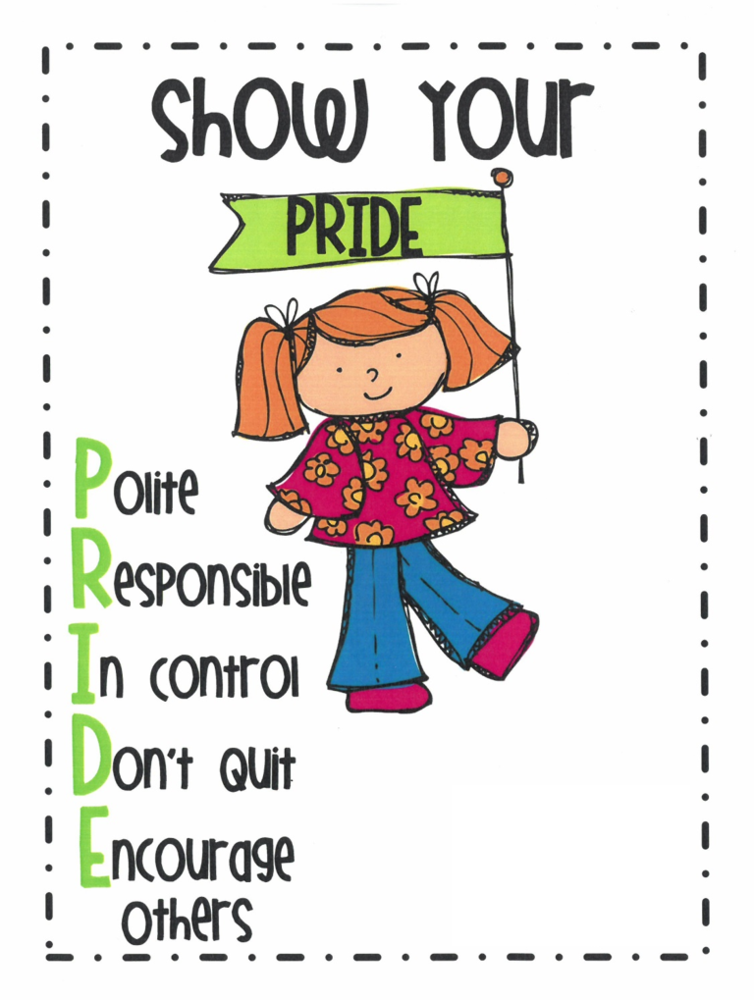PRIDE - Character Trait for March