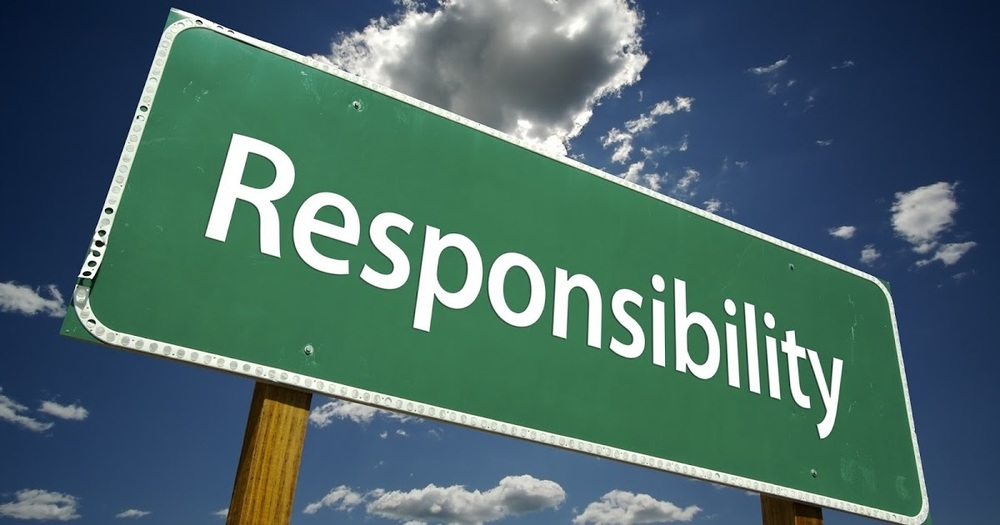 Responsibility - Character Trait for November