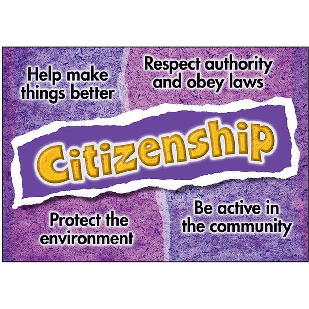 CITIZENSHIP - Character Trait for October
