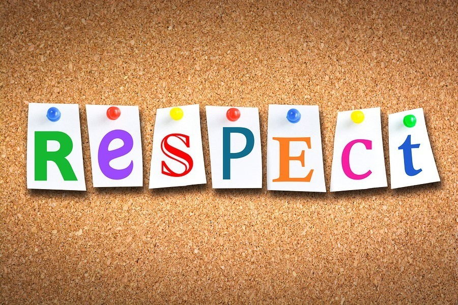 RESPECT - Character Trait for September