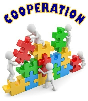 COOPERATION - Character Trait for February