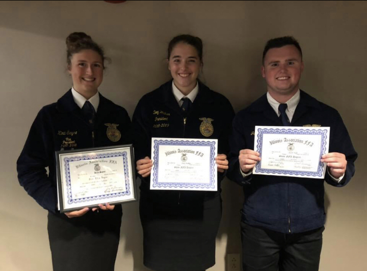 FFA degree winners