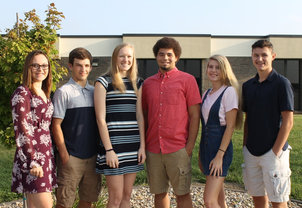 2019 Senior Homecoming Court