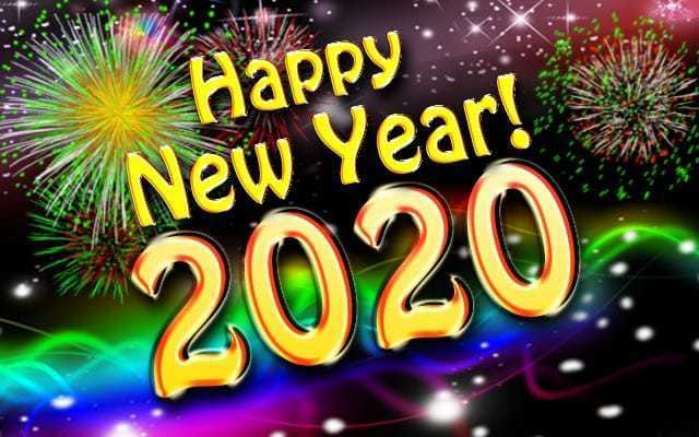Happy New Year - 2020!